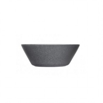 Teema dotted grey diep bord 15 cm