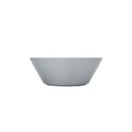 Teema parelgrijs schaal/diep bord 15 cm