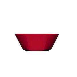 Teema rood schaal/diep bord 15 cm
