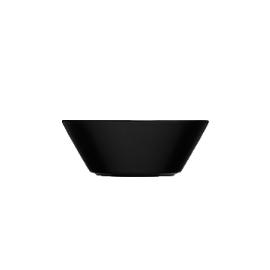 Teema zwart schaal/diep bord 15 cm