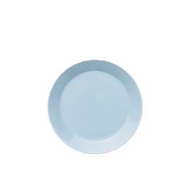 Teema lichtblauw plat bord 17 cm