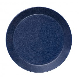 Teema dotted blue plat bord 26 cm     (Gaat uit collectie!)