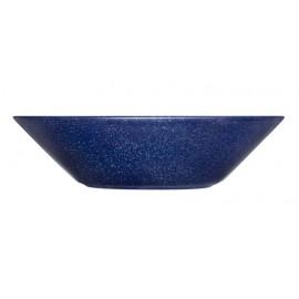 Teema dotted blue diep bord 21 cm     (uit collectie!)