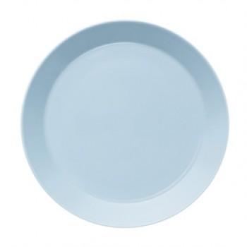 Teema lichtblauw plat bord 26 cm