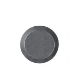 Teema dotted grey plat bord 17 cm (uit collectie per 31-12-2021)