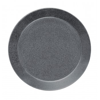Teema dotted grey plat bord 26 cm (leverbaar in februari)