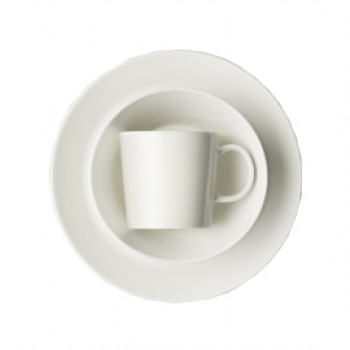 Teema wit startset (ontbijtset) 6 delig