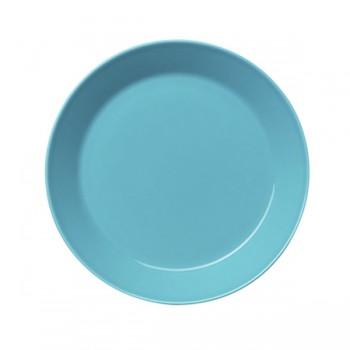 Teema turquoise plat bord 21 cm