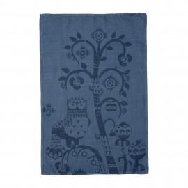 Taika theedoek 43x67 cm blauw