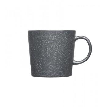 Teema dotted grey beker 0,3L