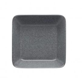 Teema dotted grey schaal 16x16cm*