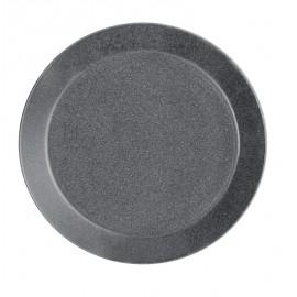 Teema dotted grey plat bord 21 cm
