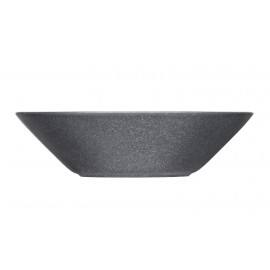Teema dotted grey diep bord 21 cm